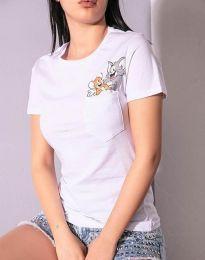 Majica - kod 2447 - 3 - bijela