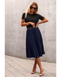 Suknja - kod 171 - tamno plava