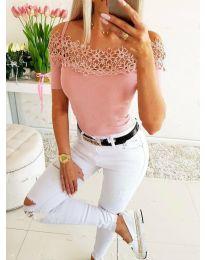 Majica - kod 3912 - roze