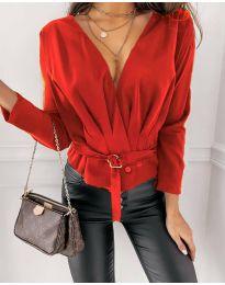 Bluza - kod 5525 - crvena