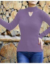 Bluza - kod 5191 - ljubičasta