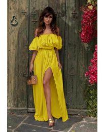 Haljina - kod 3336 - žuta