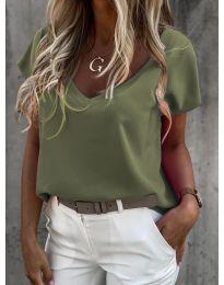 Majica - kod 0589 - maslinasto zelena