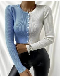 Bluza - kod 6366 - 3 - šarena