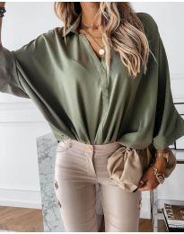 Košulja - kod 5081 - maslinasto zelena