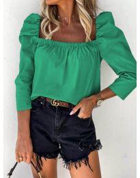 Bluza - kod 9906 - zelena