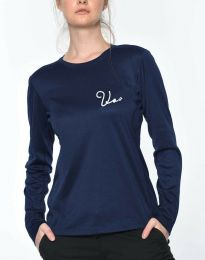 Bluza - kod 6516 - 1 - tamno plava