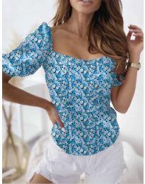 Bluza - kod 9897 - svijetlo plava
