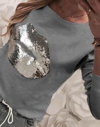 Bluza - kod 3963 - siva