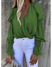 Bluza - kod 5451 - zelena