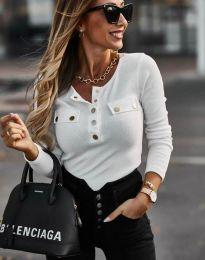 Bluza - kod 11516 - bijela