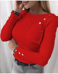 Bluza - kod 1597 - 1 - crvena
