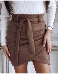 Suknja - kod 891 - smeđa