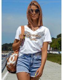 Majica - kod 4261 - bijela