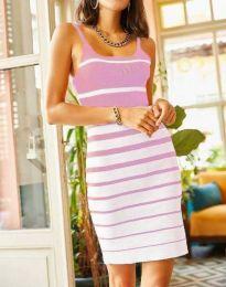 Haljina - kod 0998 - svijetlo ružičasta