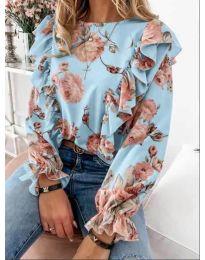 Bluza - kod 4256 - svijetlo plava