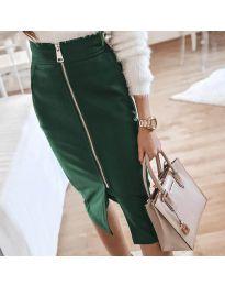 Suknja - kod 4789 - tamno zelena