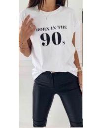 Majica - kod 947 - 1 - bijela