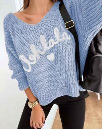 Bluza - kod 1834 - plava