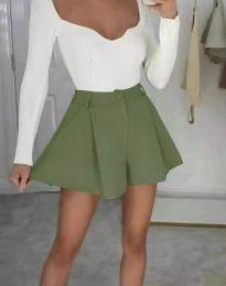 Kratke hlače - kod 1455 - maslinasto zelena
