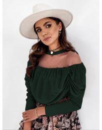 Bluza - kod 1812 - tamno zelena