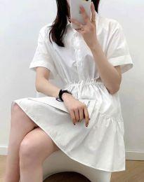 Haljina - kod 6292 - bijela