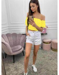 Bluza - kod 1162 - žutа