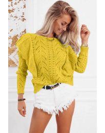 Bluza - kod 5321 - žutа