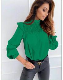 Bluza - kod 6202 - zelena