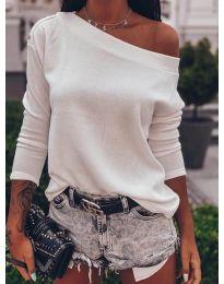 Bluza - kod 4417 - bijela