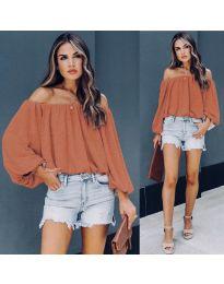 Bluza - kod 6674 - narančasta
