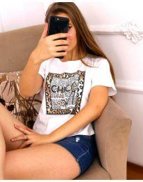 Majica - kod 3543 - bijela