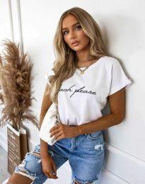 Majica - kod 4804 - bijela