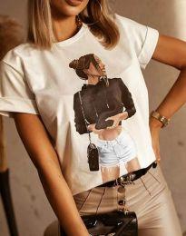 Majica - kod 1538 - bijela