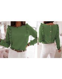 Bluza - kod 4171 - zelena