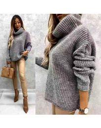 Džemper - kod 3029 - siva