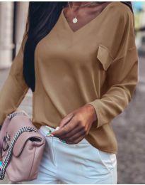Bluza - kod 0802 - smeđa
