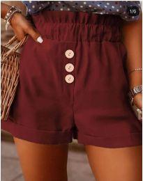 Kratke hlače - kod 9383 - bordo