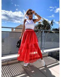 Suknja - kod 0008 - crvena