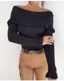 Bluza - kod 7131 - crna