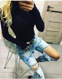 Bluza - kod 5256 - crna