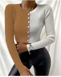 Bluza - kod 6366 - 7 - šarena