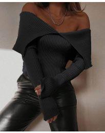 Bluza - kod 5222 - crna