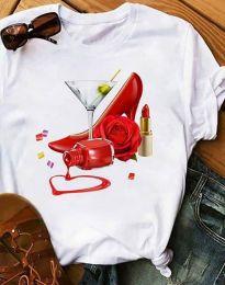 Majica - kod 2438 - 1 - bijela