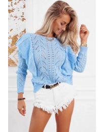 Bluza - kod 5321 - svijetlo plava