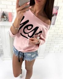 Bluza - kod 0996 - 4 - roze