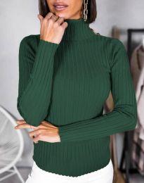 Bluza - kod 1114 - tamno zelena