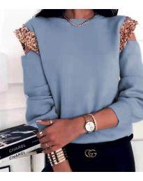Bluza - kod 1539 - svijetlo plava