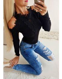 Bluza - kod 3538 - crna