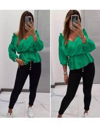 Bluza - kod 7771 - zelena